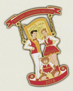 Der Sticker des Tanzkorps